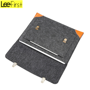 Best Selling Felt PU Laptop Cover Case For Macbook Air/Pro