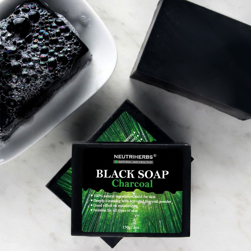 Most Popular Anti Acne Minerals Remove Toxins Kojic Acid Activated CharcoalBlack Soap