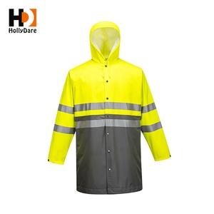new product enjoy free shipping latest trends Men'S Parka Jacket 100% Polyurethane Raincoat