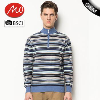 Business Style Free Knitting Patterns Custom Woollen Men Sweater