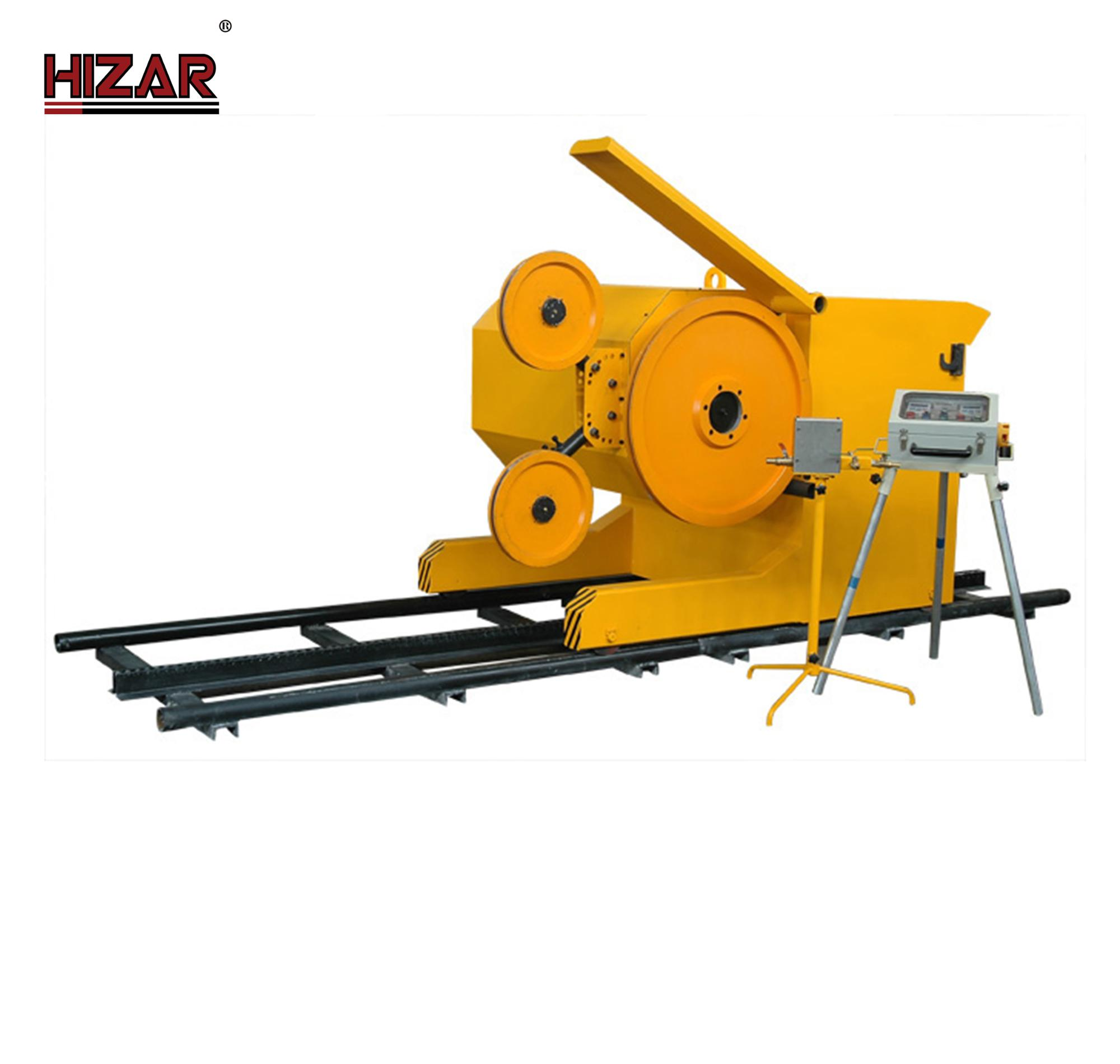 Hizar Hws75 High Quality Rope Cutting Stone Machine Concrete Wire ...