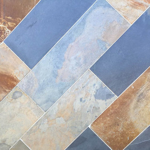 Decorative landscaping Rusty Slate tiles for sale WT-1602C