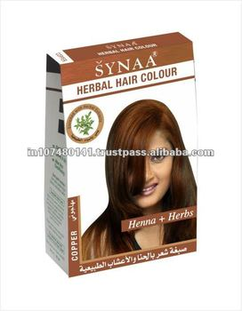 Synaa Herbal Hair Color Copper Buy Copper Henna Copper Brown Hair