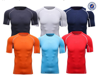 Custom logo muscle fit t shirt wholesale