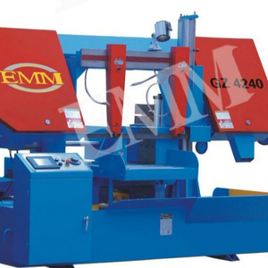 D4280/140 Double Column horizontal band saw cutting