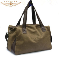 trendy duffle travel military bag