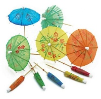 April Fool's Day Online Shopping Premium Reusable Small Paper Cocktails Umbrella