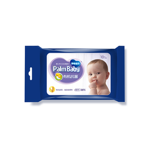 New style bacteriostatic face cleaning tissue paper organic biodegradable baby wipe container