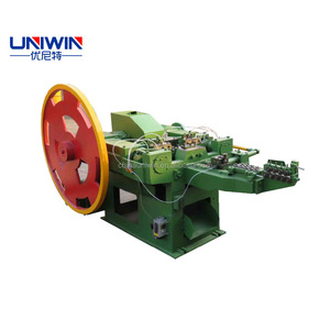 taiwan automatic iron wood steel nail making machine
