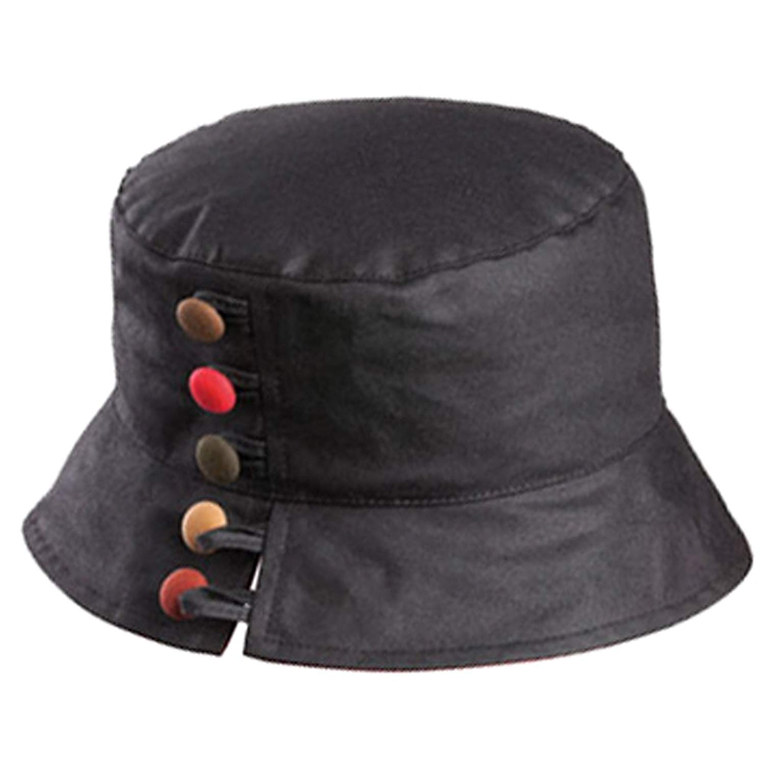 dadc4e7347d Get Quotations · Olney Olivia Ladies Wax Waterproof Hat