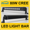 2016 high quality new product 80w cr*ee led offroad light bar 16pcs*5w off road led light