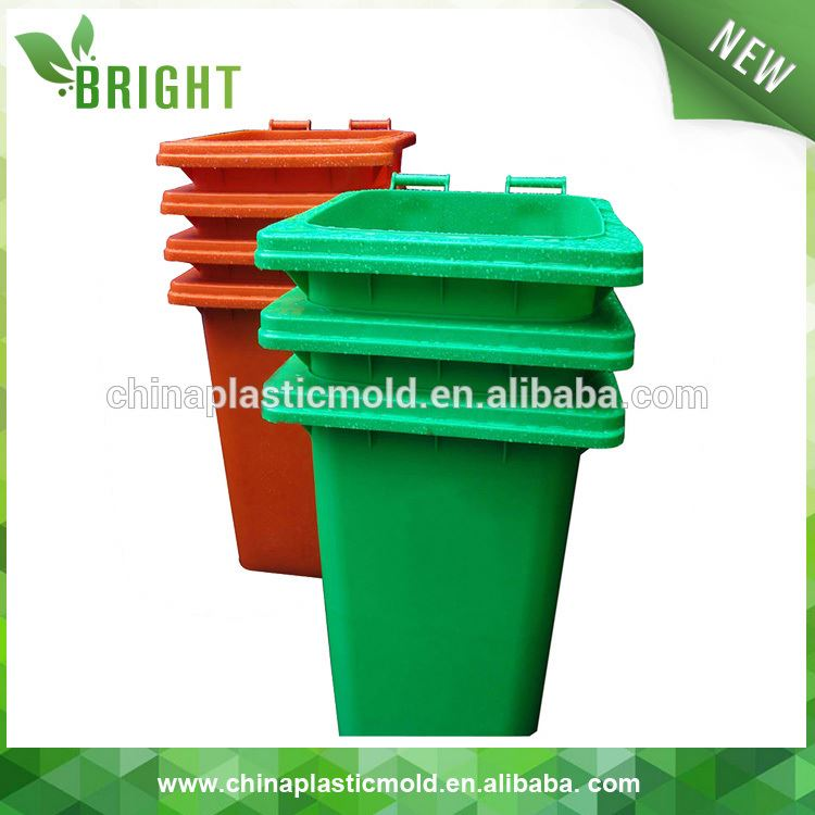 gallon plastic trash can with wheels and covers outdoor advertisement trash bin