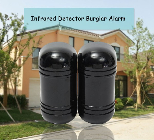 Intrusion Alarm Infrared Detector Burglar Alarm ABT-100 Photoelectric Dual Beam Perimeter Fence Window Outdoor