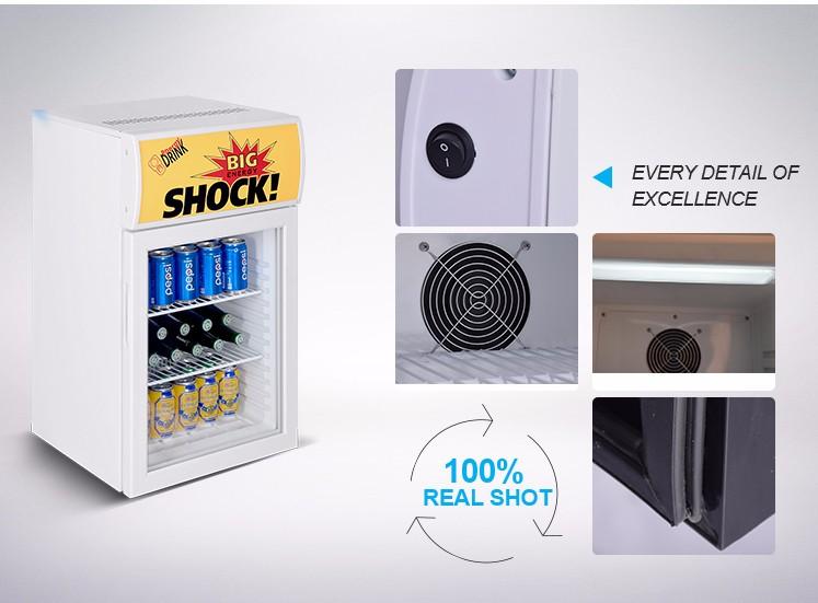 Mini Kühlschrank Bei Real : L mini kühlschrank kommerziellen getränkekühler förderung