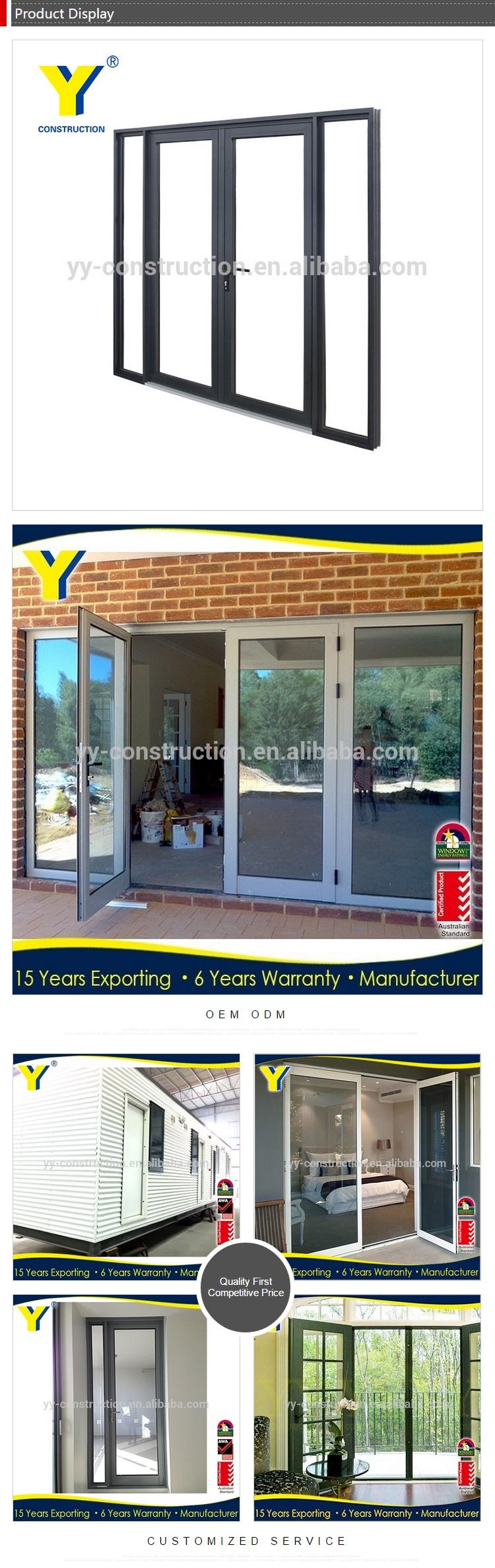 Porte Verriere Interieure Occasion portes et fenêtres en aluminium standard au | porte vitrée d'entrée de  bureau | portes extérieures d'occasion À vendre-portes françaises  extérieures
