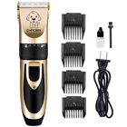 Low Noise Electric Rechargeable Pet Grooming Hair Clippers with ceramic blade , Pet Dog Hair Trimming Clippers Set for Cat