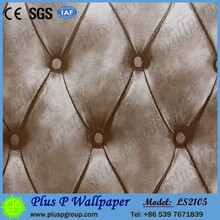 Modern Style 3D PVC Wallpaper for KTV Rooms Decoration