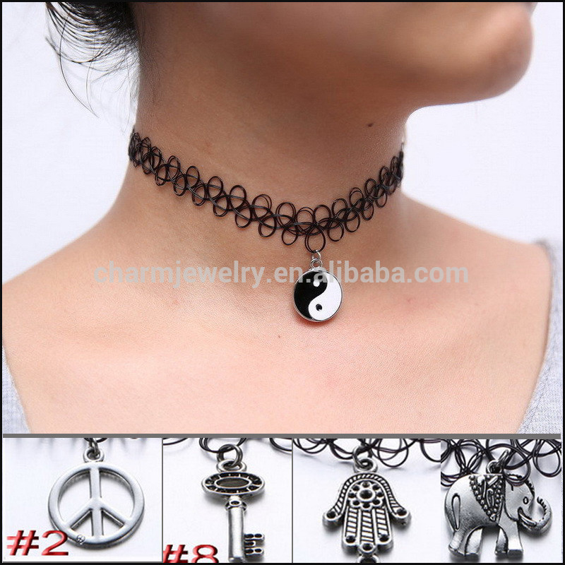 comment faire un collier ras de cou elastique