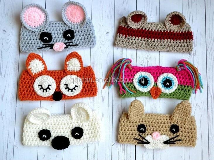 Diademas de crochet patrones for Diademas para bebes de ganchillo