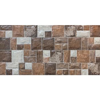 300*600mm 3D inkjet stone exterior wall cladding tiles design for ...
