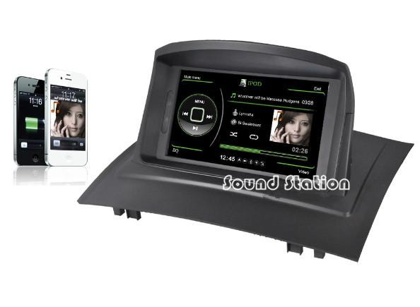 megane 2 ii radio for renault megane 2 ii car multimedia dvd gps navigation navi nav sat media. Black Bedroom Furniture Sets. Home Design Ideas