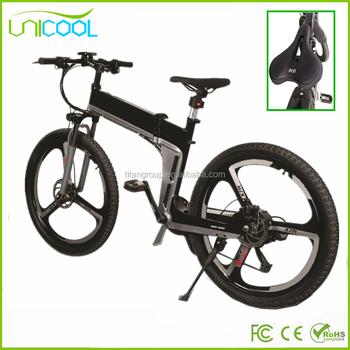 Unicool 26 Inch Big Wheel Fat Tire Sports Electric Mountain Bike For S