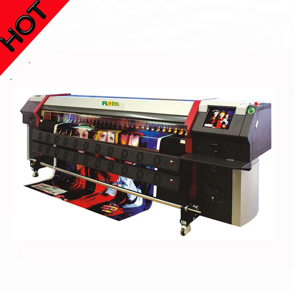 Flora spectra polaris sticker printing machine