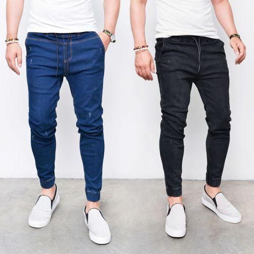 Slim Semi Baggy Denim Jogger Jeans Buy Jogger Jeans Baggy Denim Jeans Non Denim Jeans Product On Alibaba Com