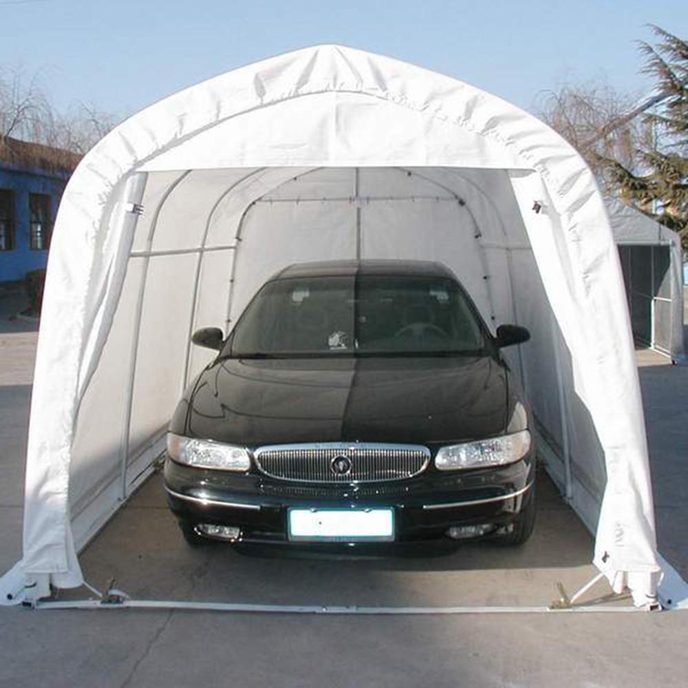 Vehicle Canopy Shelters : Diy steel frame portable car shelter garage buy