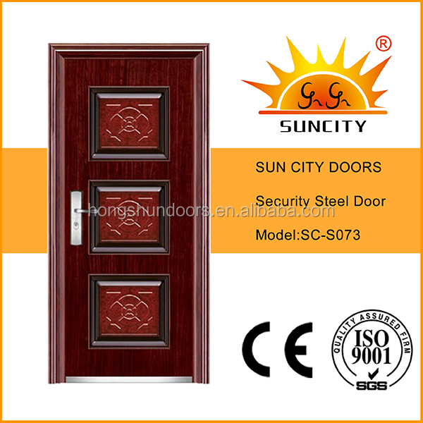 Good looking used exterior steel doors for sale SC-S073