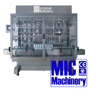 Micmachinery widely used bottle filling equipment liquid filling line volumetric fillers
