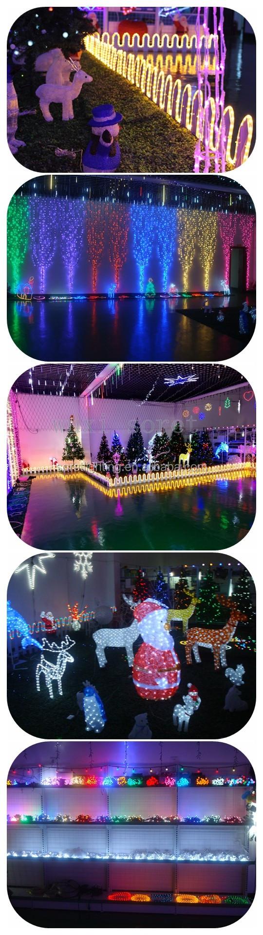 Led Eiszapfen Lichter Regen Tropfen Weihnachten Lichter/wasserfall ...
