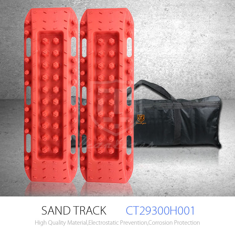 SUV assistant 4*4 heavy duty trunk recovery tracks in sand, mud and snow Recovery tracks, Car Security Snow Mud Sand track