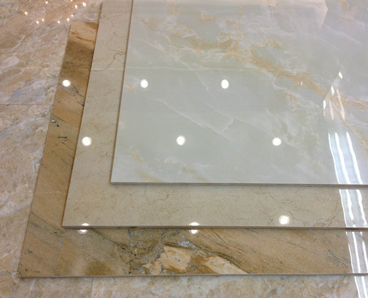 Artificial Marble Flooring : Marble vivid immitation artificial glazed flooring