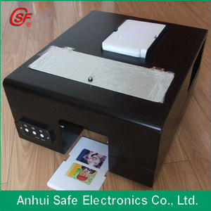 Auto double side printable pvc card inkjet printer CD/DVD