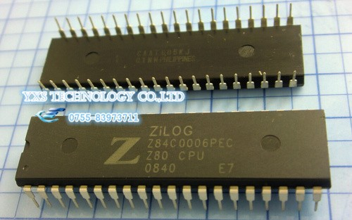 New and original DIP40 CMOS Z80 CPU CENTRAL PROCESSING IC Z84C0006PEC