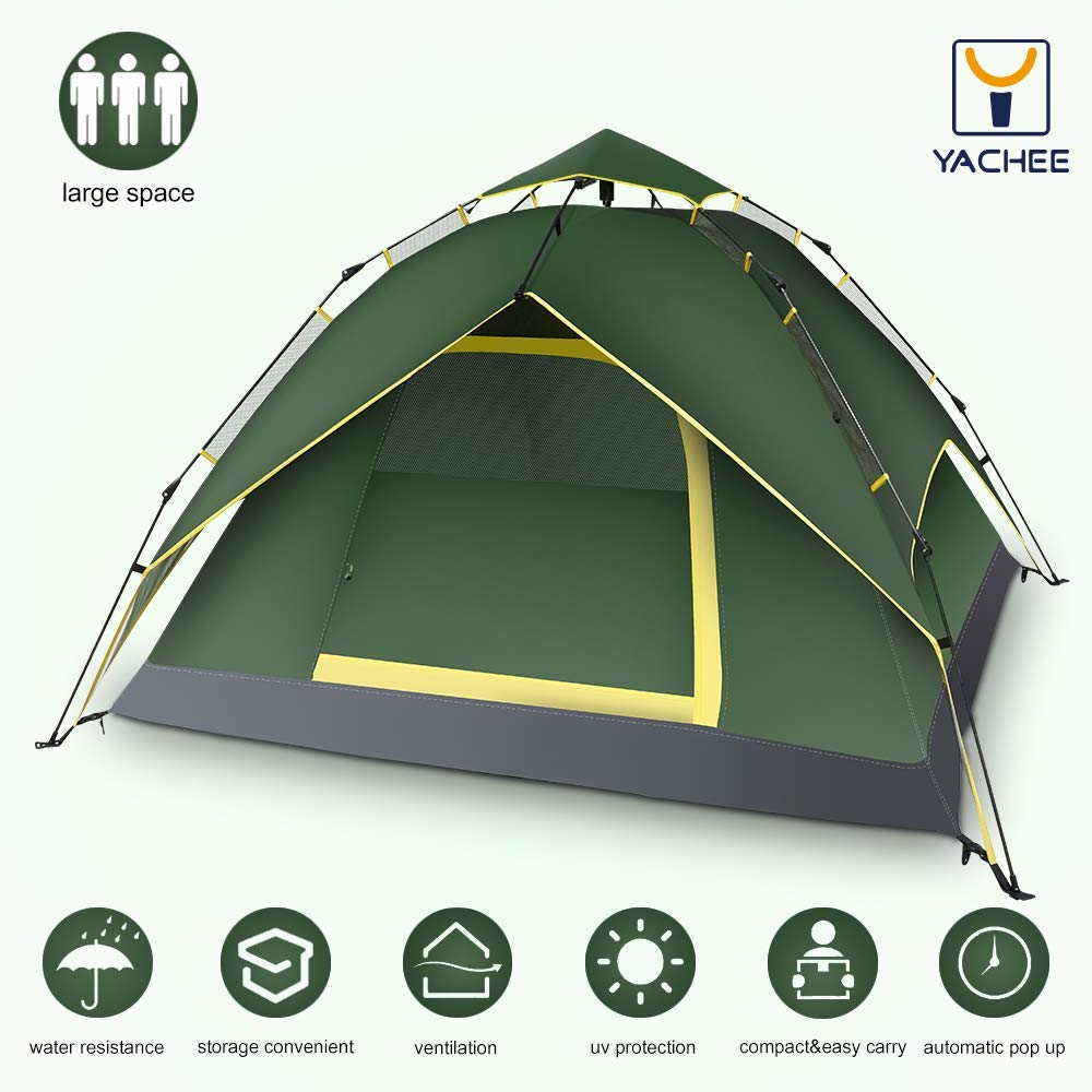 b2ecb3a2eac Get Quotations · Yachee Automatic Hydraulic Tent