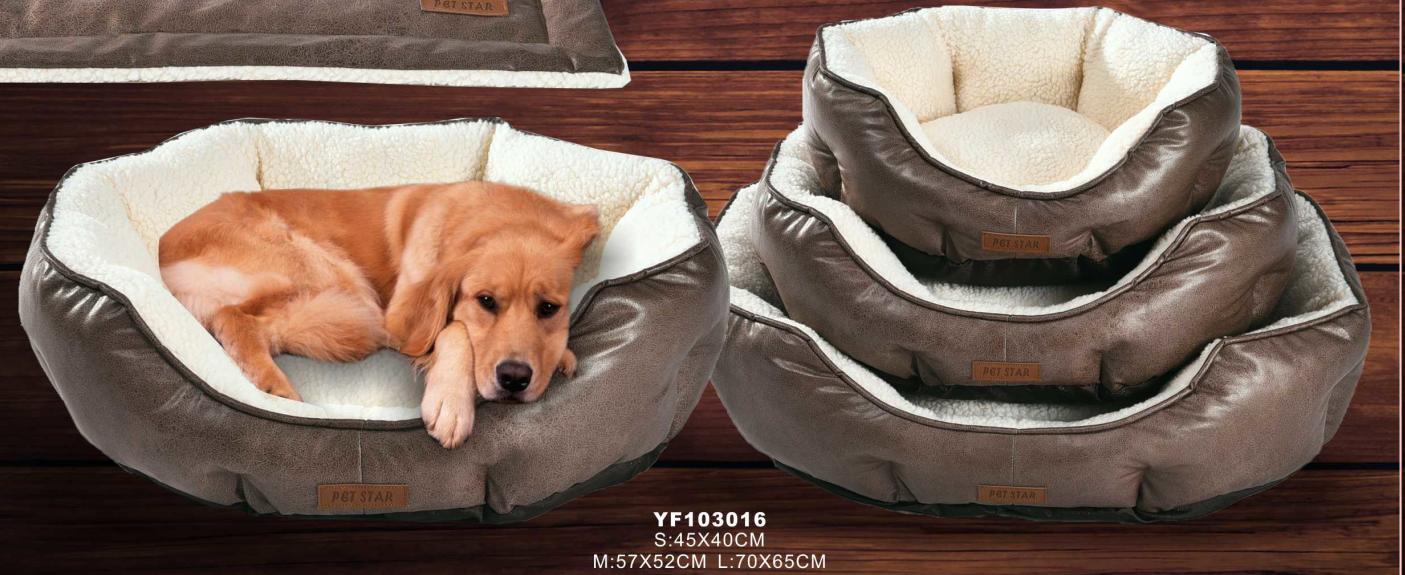 pet sofa luxury microfiber dog beds,designer dog bed