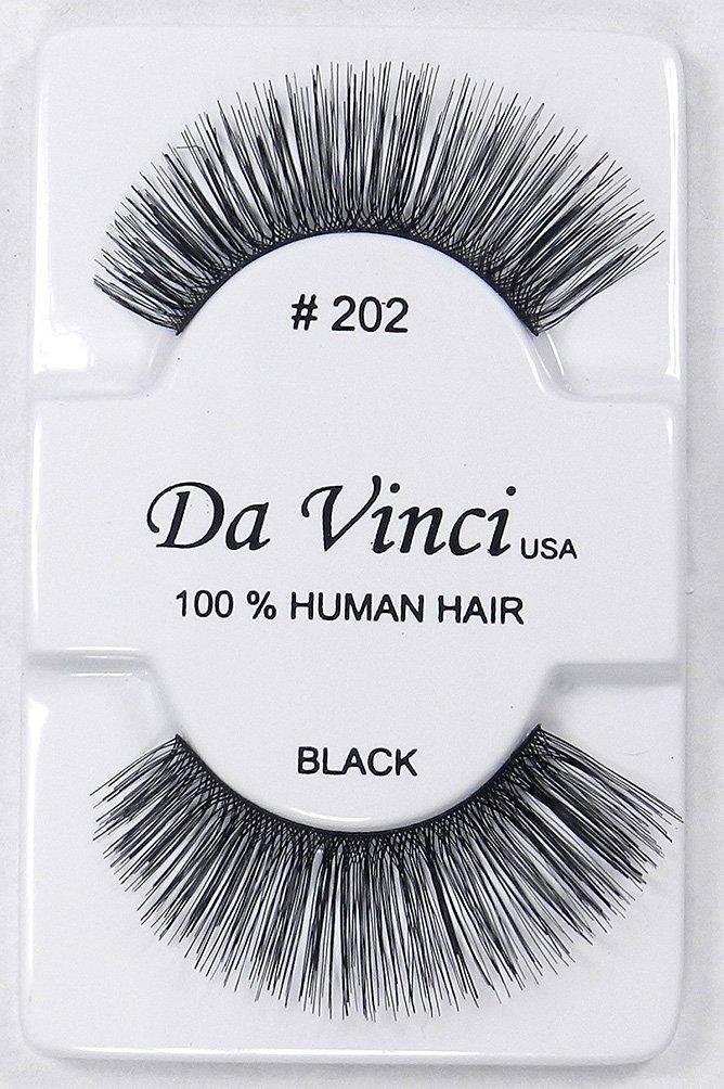 ce282bdedfe 6 Pairs of Da Vinci USA False Eyelashes Fake Eye Lashes Human Hair Lash - #