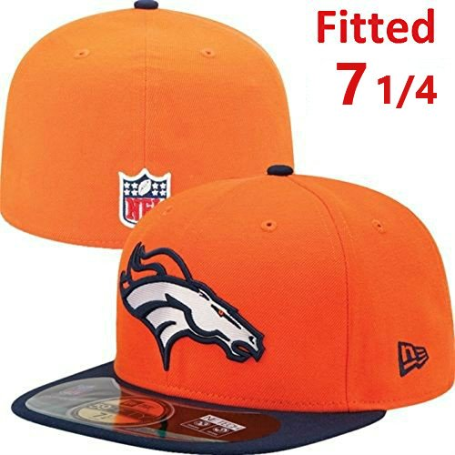 991482f4f8ed0 Get Quotations · Denver Broncos New Era 5950 On-Field Fitted Size 7 1 4  Sideline Players