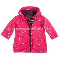 lovely kids rainwear waterproof baby rain coat cheap kid jacket