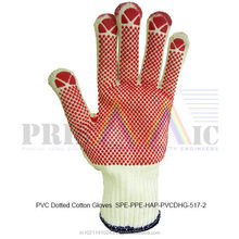 PVC Dotted Cotton Gloves ( SPE-PPE-HAP-PVCDHG-517-2 )