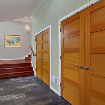 Double Swing Opening Solid Timer Wood Garage Door Panels Sale Buy