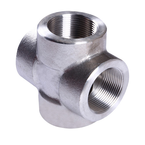 stainless steel tube cross fittings connector