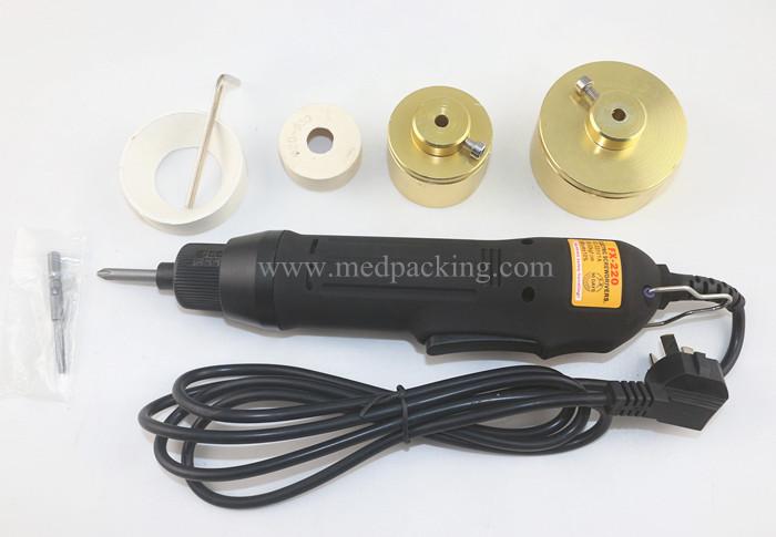 EC01 휴대용 전기 스크류 캡핑 기계 공장 가격 딜러 가격