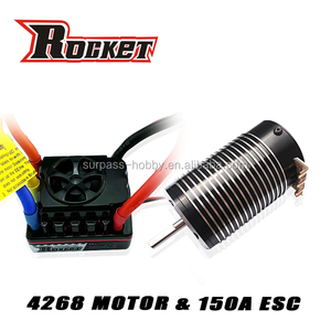 rc hobby parts 4268 rc car electric brushless motor+150A ESC combo