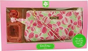 Lilly Pulitzer Wink By Lilly Pulitzer For Women Eau De Parfum Spray 1.7 Oz & Cosmetic Bag