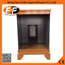 Small Size Manual Powder Coating Booth With One Filter