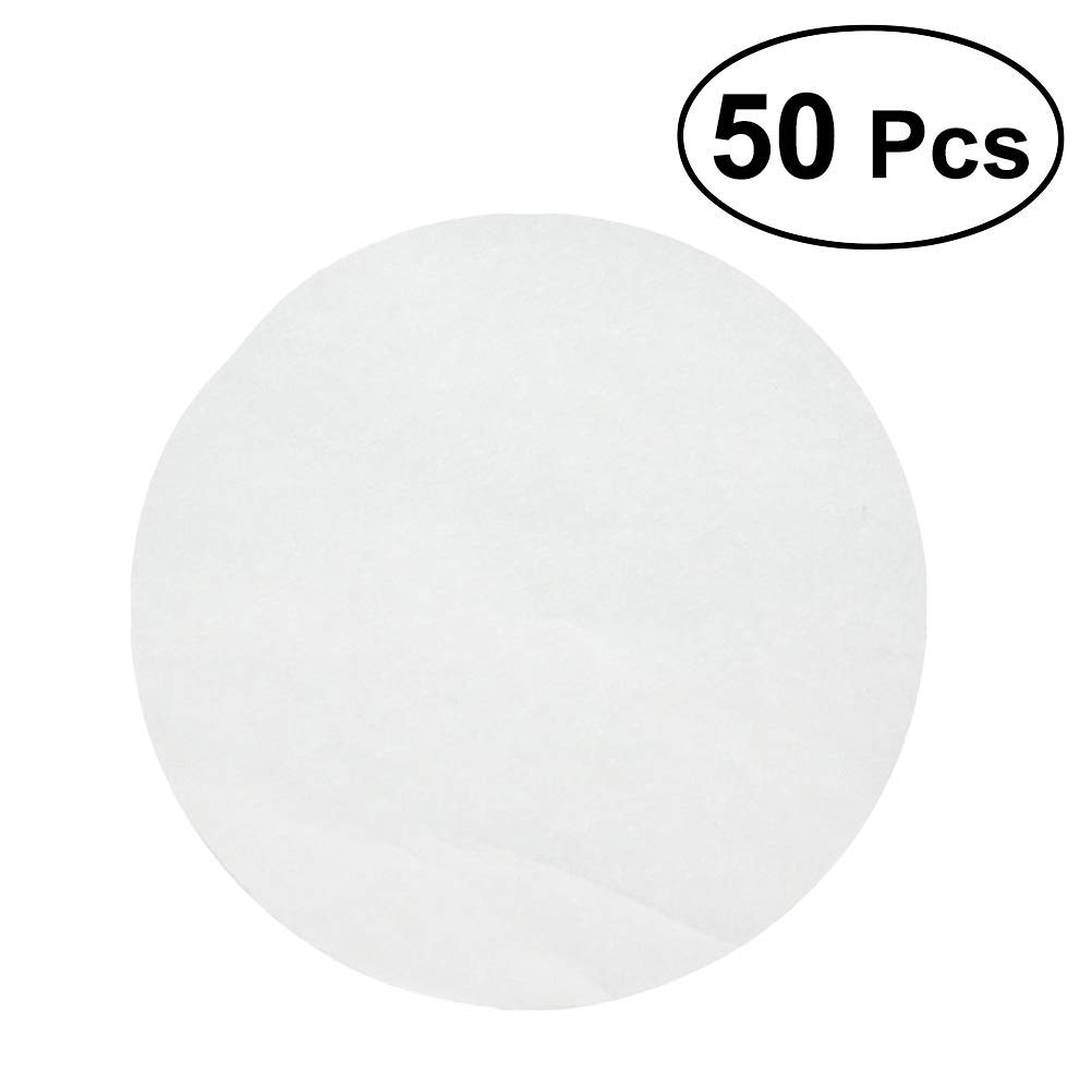 50 Pcs 9.5 Inch Round Parchment Paper - Unbleached Parchment Paper, Baking Paper Sheets, Cake Pan Liners with Easy Lift Tabs for 9-Inch Round Cake Pans