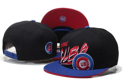 Top Quailty Team Logo Embroidery Adjuatable Hats Sport Flat Visor Design Chicago  Cubs ef4dae2982e